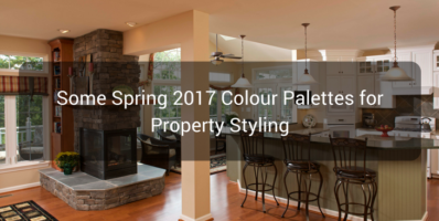 Some Spring 2017 Colour Palettes for Property Styling