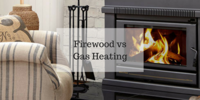 Firewood vs Gas Heating