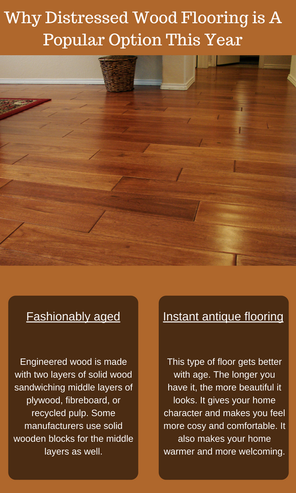 Why Distressed Wood Flooring Sydney is a Popular Option This Year