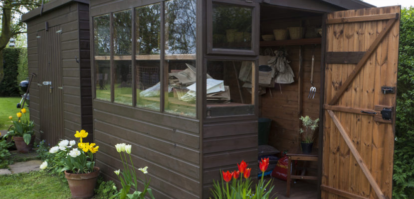 Father's Day Project - Install a Garden Shed!