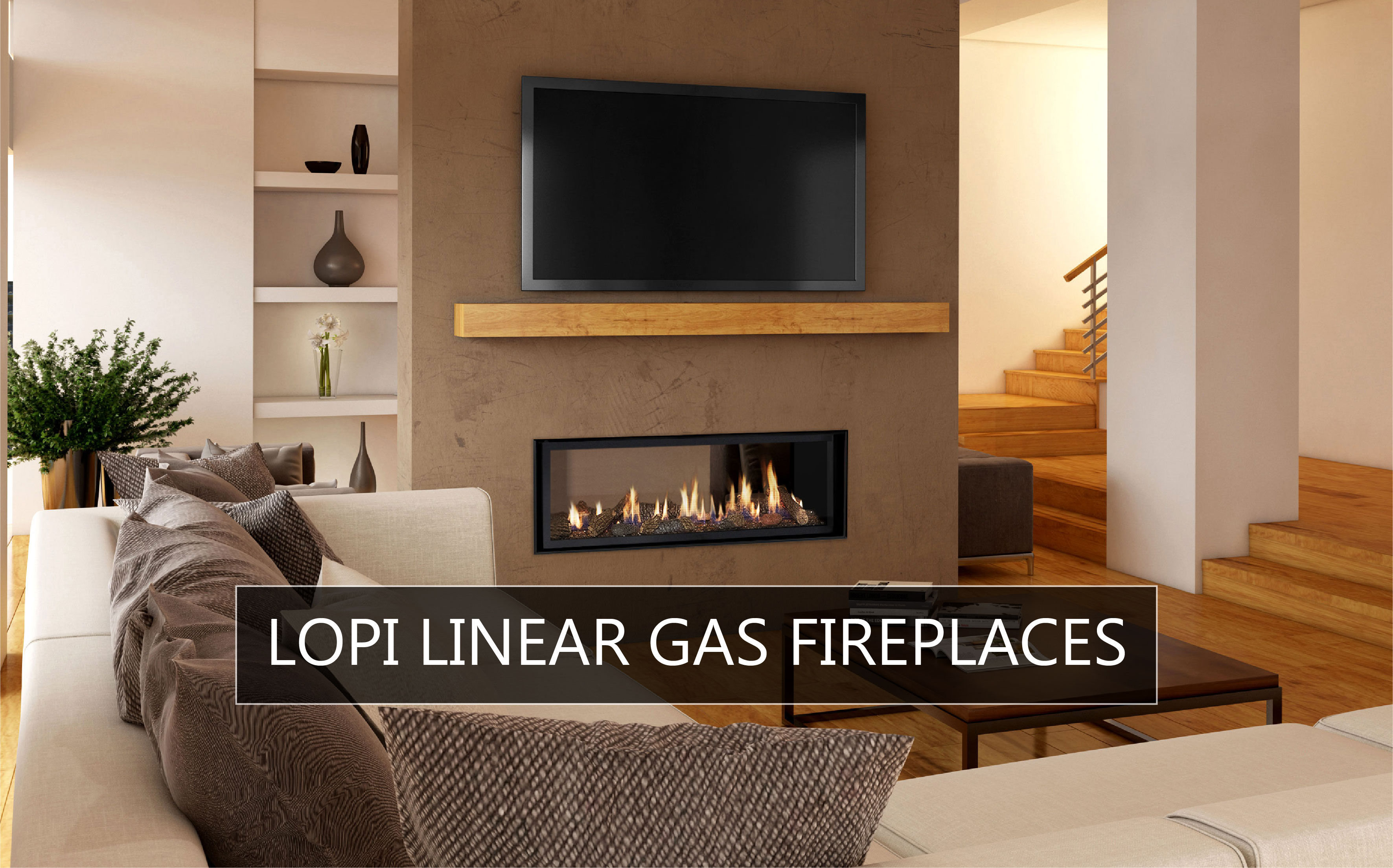 Lopi Linear Gas Fireplaces
