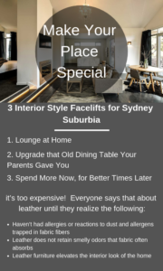 Make Your Place Special With 3 Interior Styles