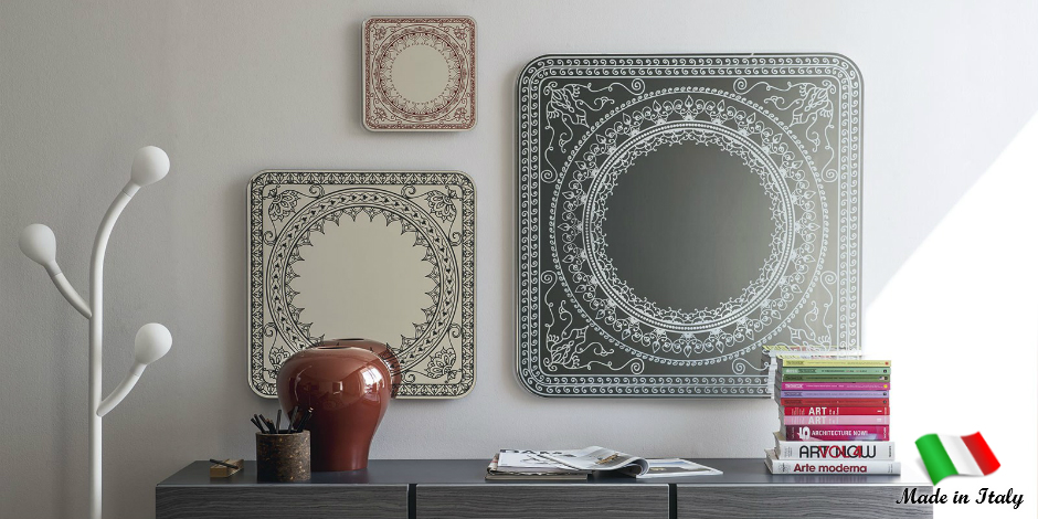 Oriental Styled Mirrors